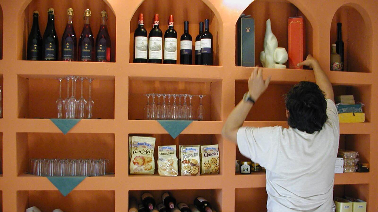 Eine feine Auswahl spanischer und deutscher Weine