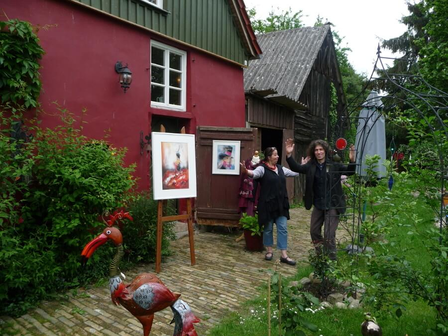 Ausstellung im Sommerladen Minzow. | Ferienwohnungen Müritz - Alte Ziegelei