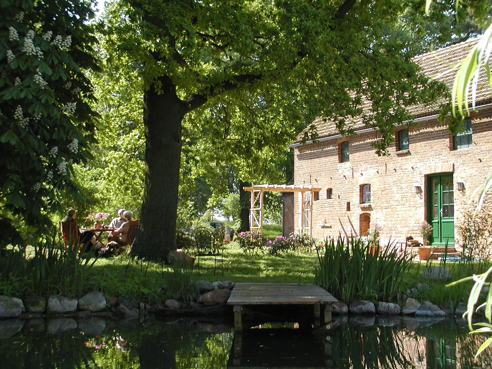 Das Ferienhaus heute. | Ferienwohnungen Müritz - Alte Ziegelei