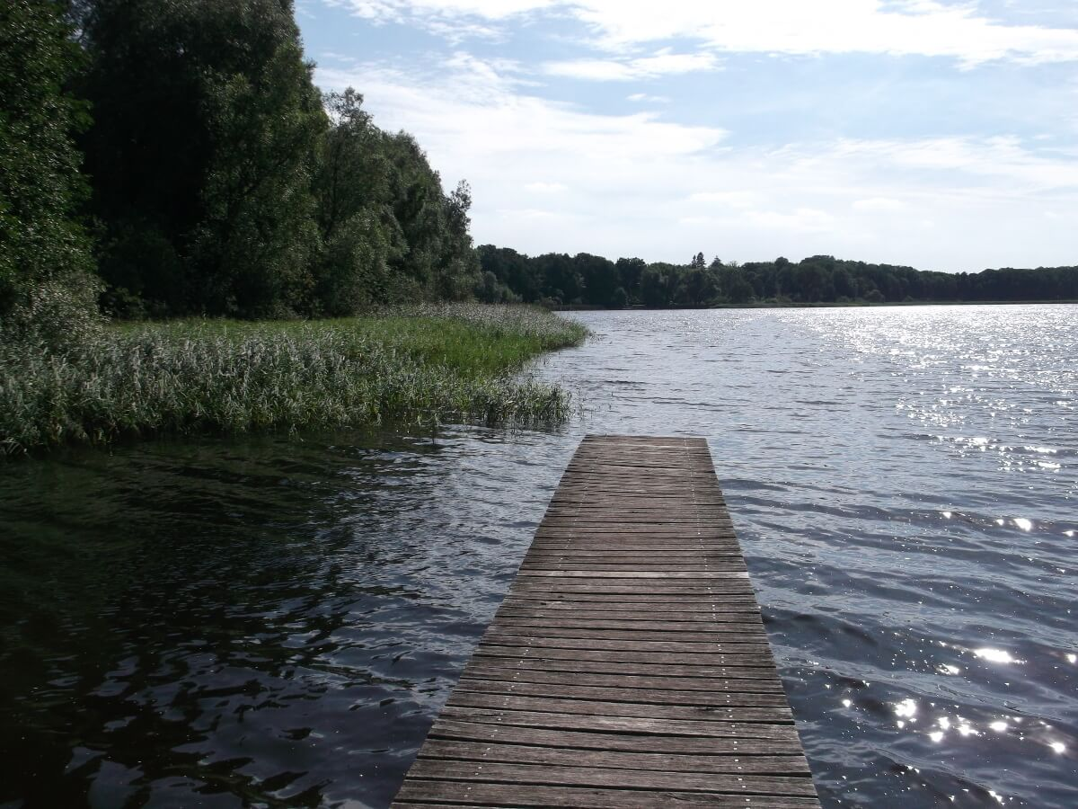 Badestelle am Darmbecker See. | Ferienwohnungen Müritz - Alte Ziegelei