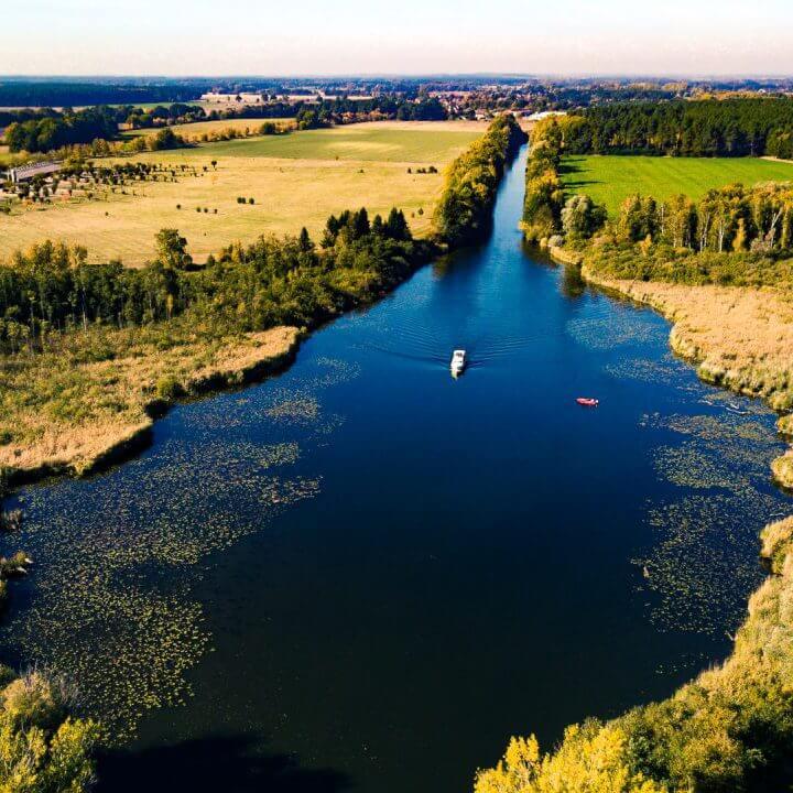 Bootstour bei Granzow. | Ferienwohnungen Müritz - Alte Ziegelei