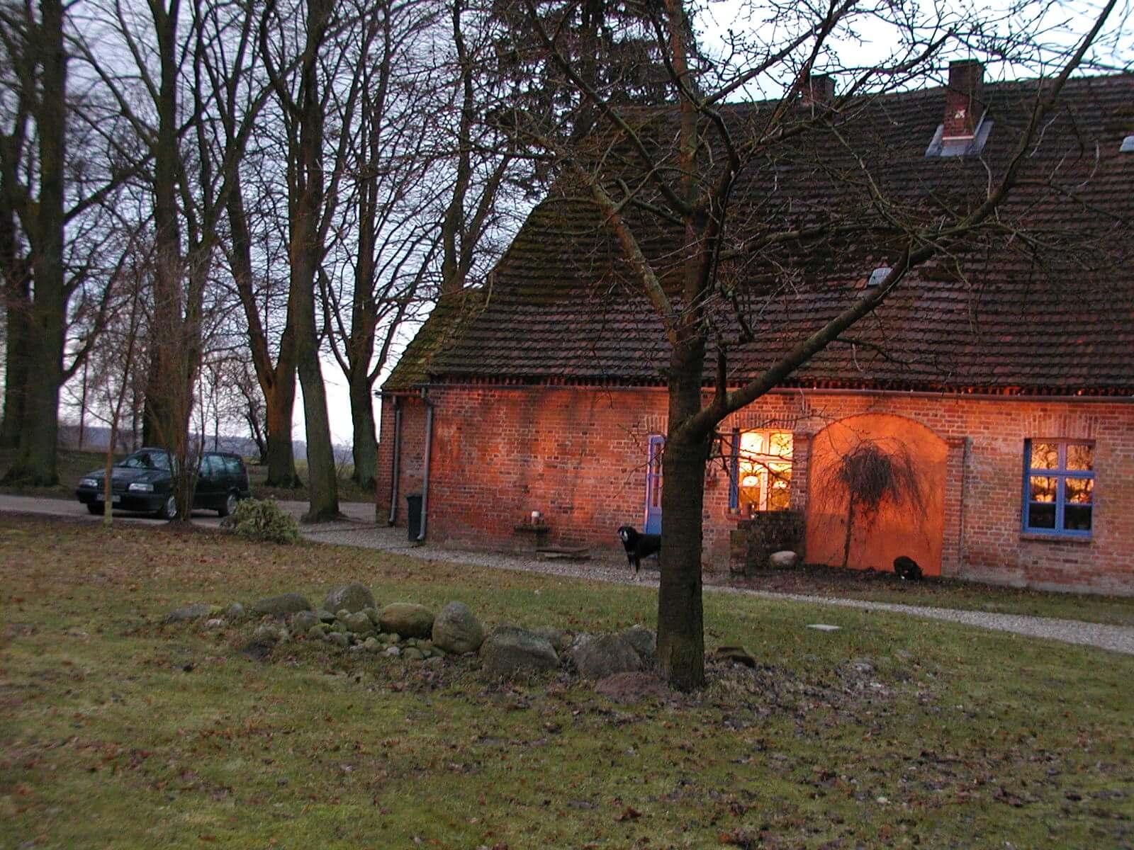Wohnhaus der Gastgeber heute. | Ferienwohnungen Müritz - Alte Ziegelei