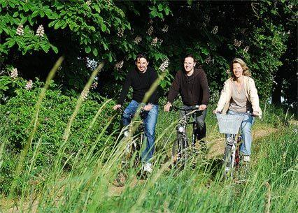 Fahrradtour unserer Hausgäste. | Ferienwohnungen Müritz - Alte Ziegelei
