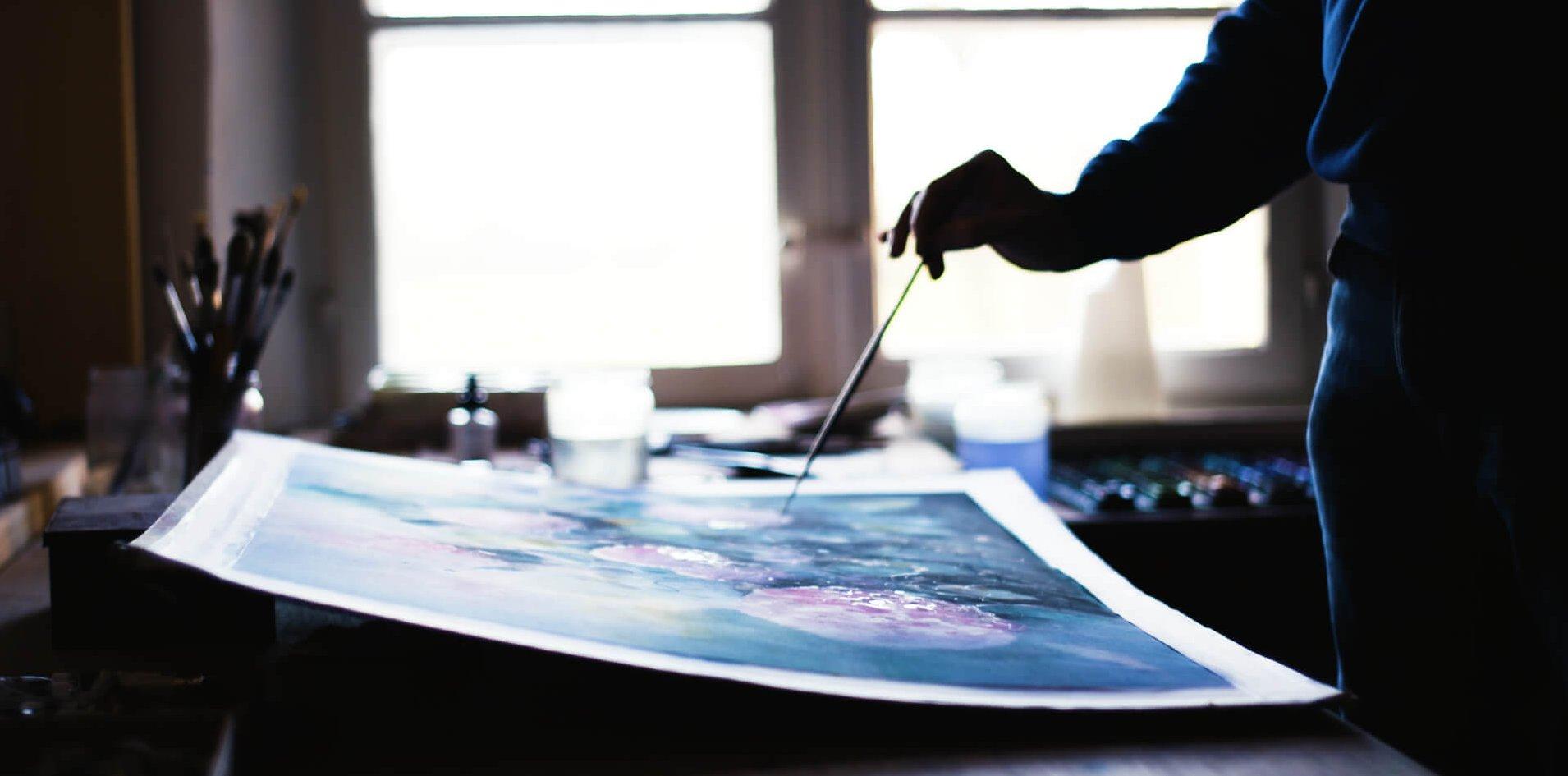 Aquarellist und Kunstmaler Hans Schott